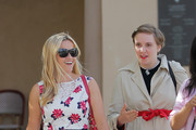 Reese Witherspoon and Lena Dunham Meet in Beverly Hills