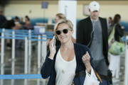 Reese Witherspoon Is Seen at JFK