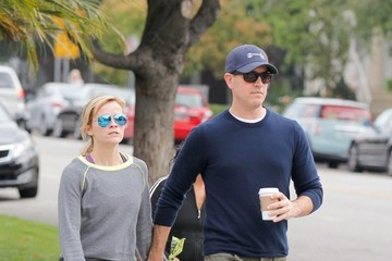 Reese Witherspoon and Her Husband Hold Hands