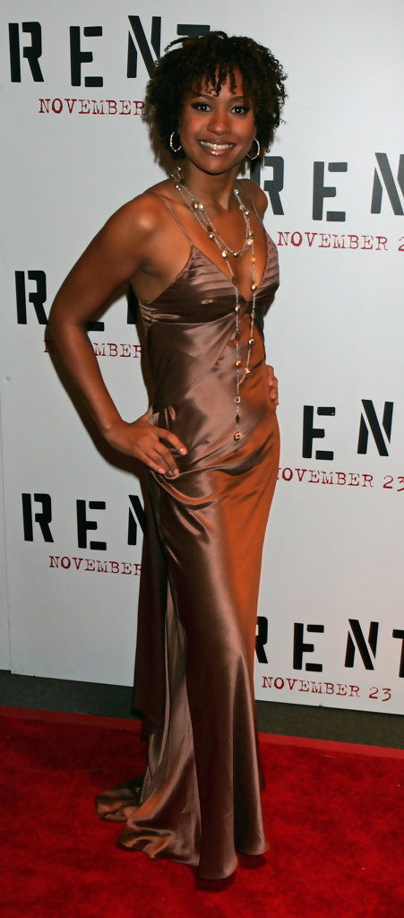 Tracie thoms in rent new york city premiere zimbio for Rent new york city