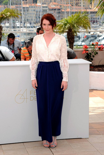 "Photocall for the film ""Restless"" at the 64th Annual Cannes Film Festival."