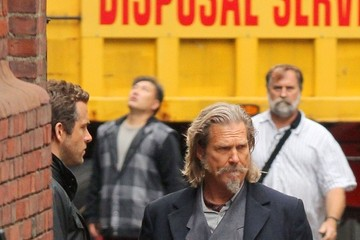 Jeff Bridges Ryan Reynolds Jeff Bridges and Ryan Reynolds Film 'R.I.P.D'