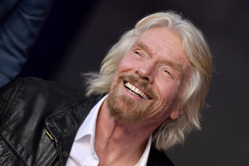 Richard Branson Sir Richard Branson Is Honored With A Star On The Hollywood Walk Of Fame