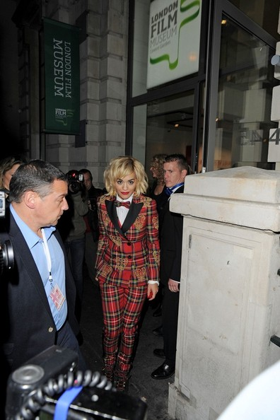 Celebs Leave the Rimmel Party in London
