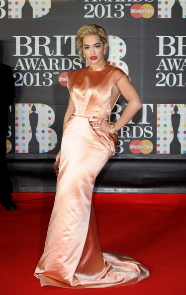 Rita Ora - The Brit Awards 2013