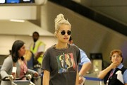 Rita Ora Seen at LAX