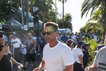 Rob Lowe Rob Lowe at World Series Game 1 in LA
