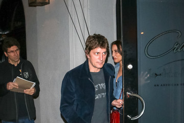 Rob Thomas Rob Thomas Outside Craig's Restaurant In West Hollywood