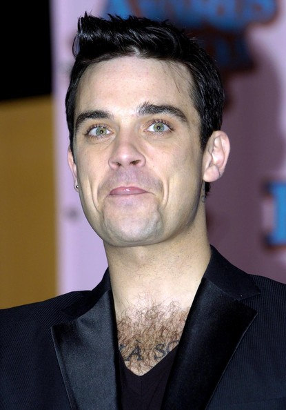 Truboymodels Robbie Robbie williams 2005 mtv european music awards
