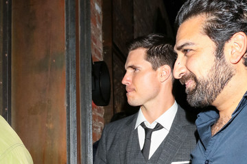 Robbie Amell Robbie Amell Outside TAO Restaurant