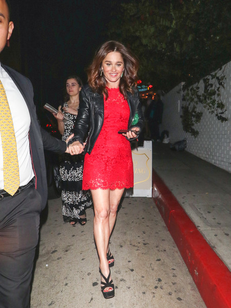 Robin Tunney Outside Entertainment Weekly's SAG Awards Party At Chateau Marmont