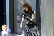 Robin Tunney is seen in Los Angeles, California.