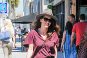 Robin Tunney is seen out and about on March 29, 2017.