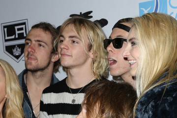 Rocky Lynch Celebrities Attend the Luc Robitaille Celebrity Shootout at Toyota Sports Center