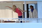 Rod Stewart and Penny Lancaster-Stewart Photos Photo