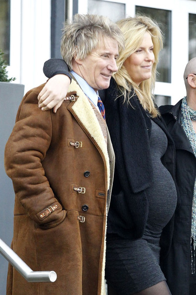 Rod Stewart Rod Stewart and his heavily pregnant wife Penny Lancaster pose for pictures with Penny's brother and his wife Louise who has sadly been diagnosed with stage three breast cancer before having Sunday lunch at Michelin Star restaurant Chapter One in Kent.