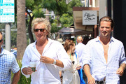 Rod Stewart and Sean Stewart Photos Photo