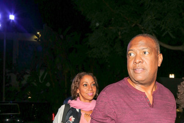 Rodney Peete Holly Robinson Peete Holly Robinson Peete Outside the Staples Center