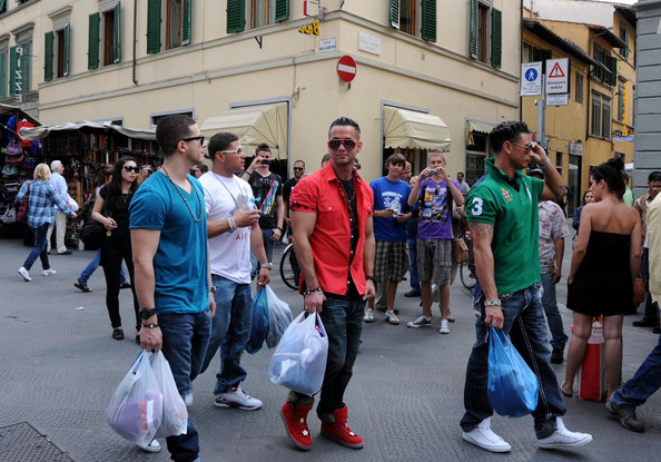 pictures of the jersey shore cast in italy. #39;Jersey Shore#39; Cast Shops in
