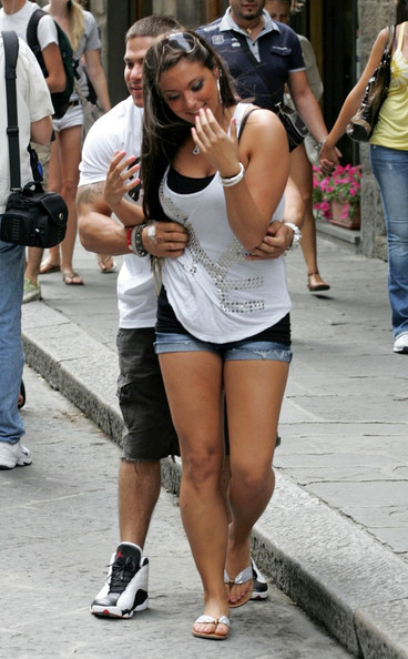 Ronnie Ortiz Magro and Sammi Giancola in Florence