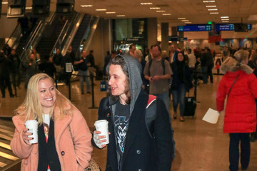 Rory Culkin Rory Culkin at Salt Lake City Airport