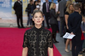 Rosamund Pike UK premiere for What We Did On Our Holiday