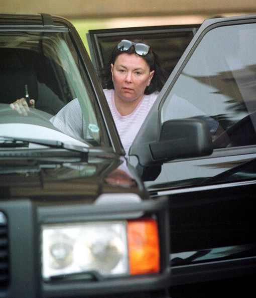 photo of Roseanne Barr  - car