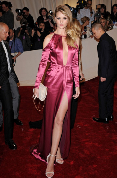 "Rosie Huntington-Whiteley Metropolitan Museum of Art Costume Institute Gala celebrating ""Alexander McQueen: Savage Beauty"".Metropolitan Museum of Art, New York, New York.May 2, 2011."