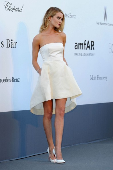 Celebs Attend the amFAR Event in Cannes