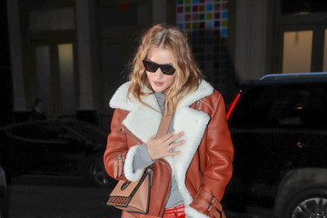 Rosie Huntington-Whiteley Rosie Huntington-Whiteley Hits NYC