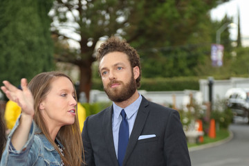 Ross Marquand 'Talking Dead Live' For the Premiere of 'The Walking Dead'