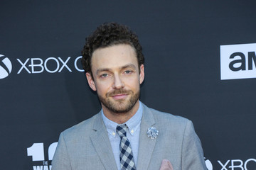 Ross Marquand AMC Celebrates The 100th Episode of 'The Walking Dead'