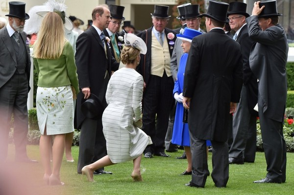 Guests Celebrate at Royal Ascot Wednesday