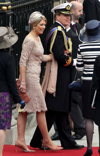 Royal wedding: guests and the newlyweds
