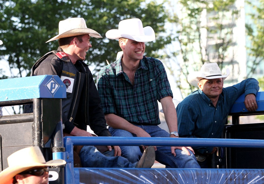 Prince William In The Royals At The Calgary Stampede Zimbio