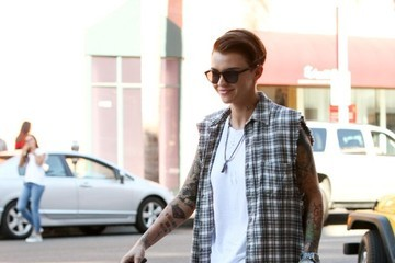 Ruby Rose Ruby Rose Goes out in Beverly Hills