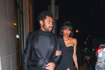 Russell Wilson Russell Wilson And Ciara Are Seen Outside Catch Restaurant In West Hollywood