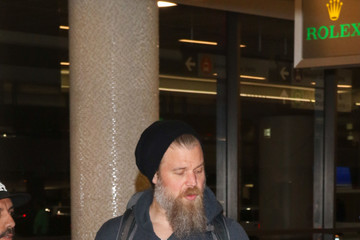 Ryan Hurst Ryan Hurst Spotted At LAX