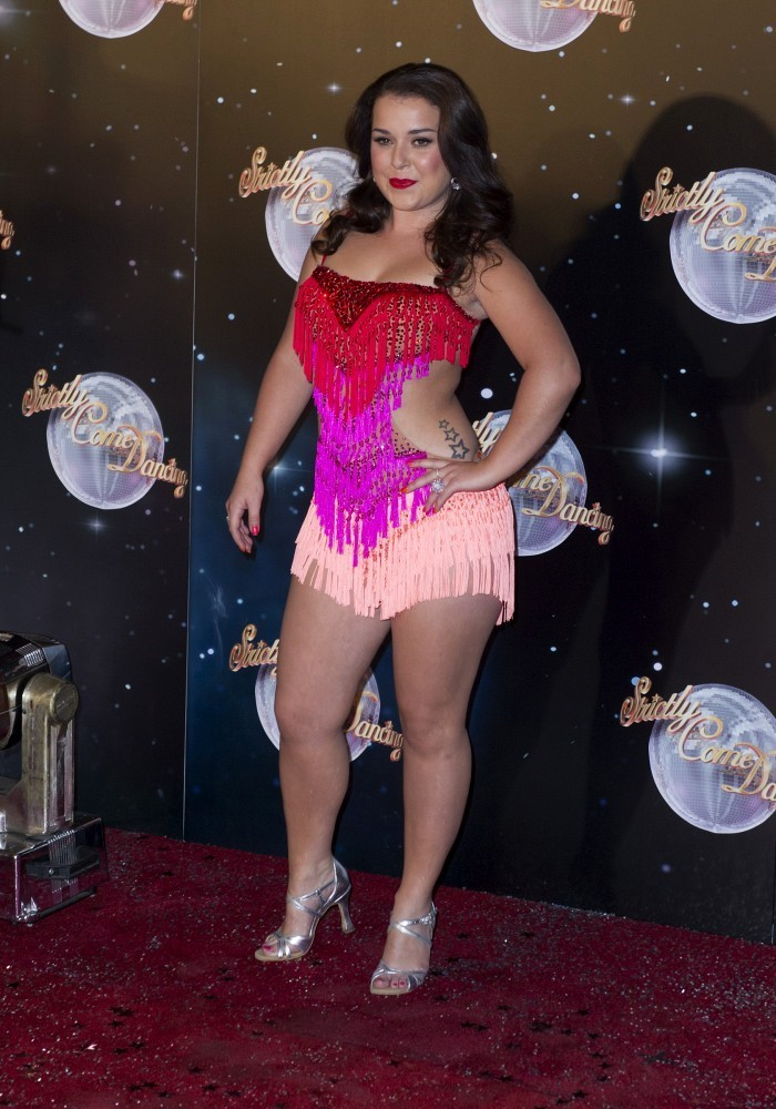 Dani Harmer Dani Harmer Photos The Launch Of Strictly