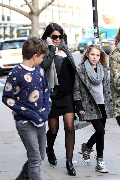 11 Year Girl Bedroom Decoration Ideas: Sadie Frost Babysits Kate Moss's Daughter
