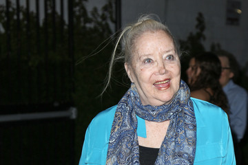 Sally Kirkland Celebrities Are Seen Arriving to the Premiere at Arena Cinemas
