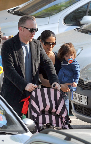 salma hayek husband and daughter. salma hayek husband and