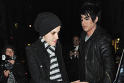 Samantha Ronson and Adam Lambert Photos Photo