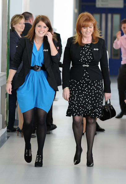 Sarah ferguson pictures royals at the teenage cancer trust unit