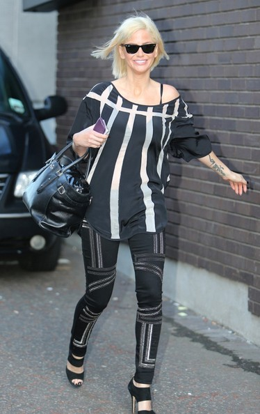 26/02/2014 Sarah Harding pictured today at the London Studios.