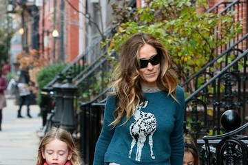 Sarah Jessica Parker Sarah Jessica Parker Out with Her Girls