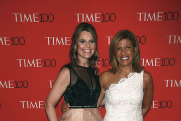 Savannah Guthrie Stars Attend The Time 100 Gala In New York City