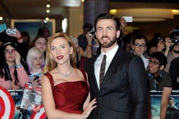 Scarlett Johansson 'Captain America: The Winter Soldier' Premieres in London