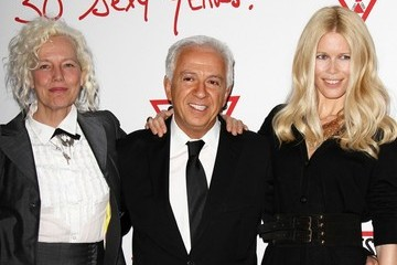 Ellen Von Unwerth Paul Marciano Celebs at the Guess Cocktail Party