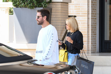 Scott Disick Scott Disick and Sophia Richie Out and About